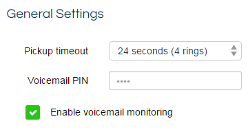 voicemail monitoring enable