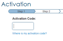 activation step 1
