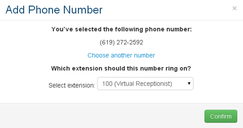 Adding Additional Phone Numbers  Ooma Office  Support